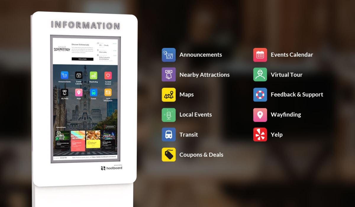 touch screen software kiosk