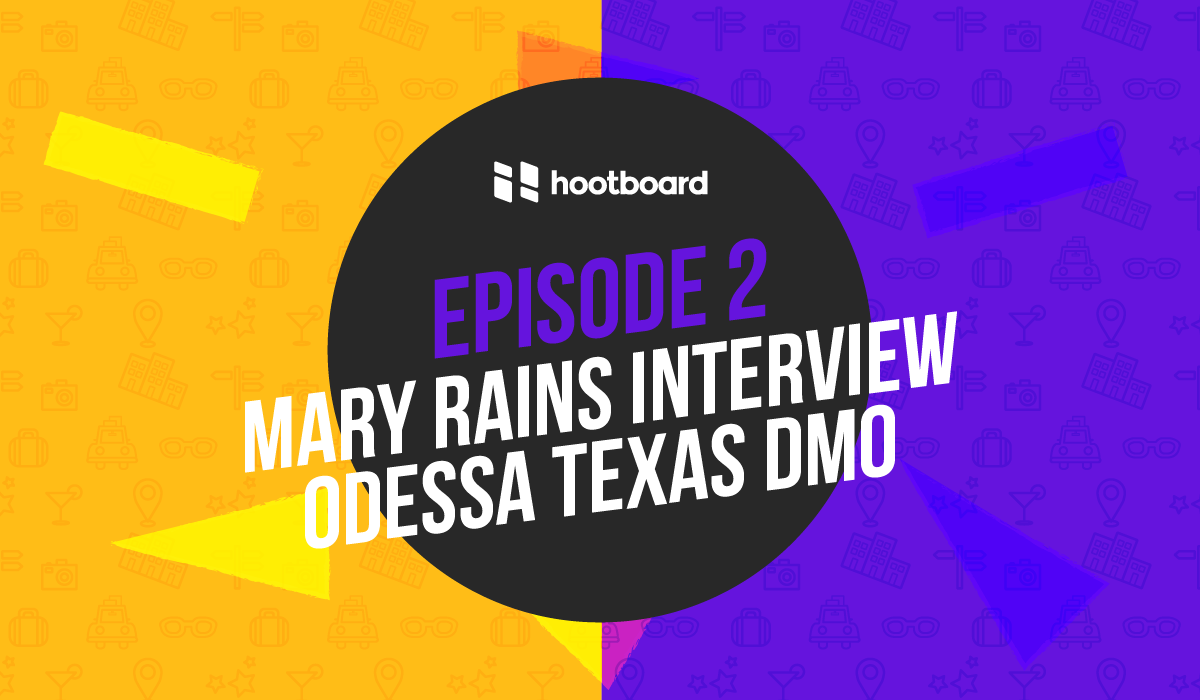 Destination Marketing Podcast Odessa Texas Mary Rains