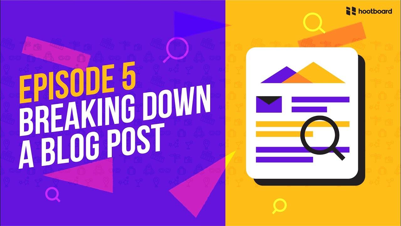 podcast destination marketing blog breakdown